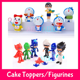 Paw Patrol★PJ Masks★Minions★Doraemon★Hello Kitty★Miniature Action Figurines Cake Toppers Toy