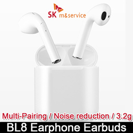 [SK] 3.6g BL8 Earphone Earbuds /Bluetooth5.0 /Airpods Style /Light-Weight /Quick Pair
