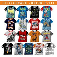Kaos Anak Laki - Laki Umur 7 - 14 Tahun