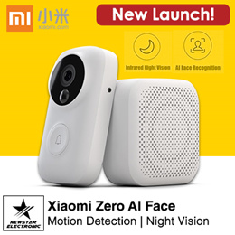 Xiaomi Zero AI Face Identification 720P IR Night Vision Video Doorbell Set