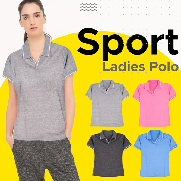 Ladies Sport Polo Shirts Deals for only Rp61.500 instead of Rp61.500