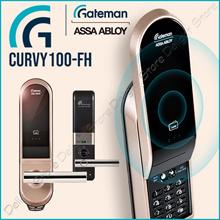Gateman CURVY100-FH Digital Door Lock Smart Pad Fire Proof