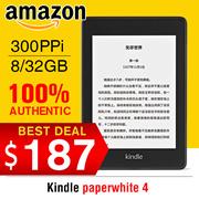 HXR Mobile!!100% Authentic  Amazon Paperwhite 2018 paperwhite 4!!!!!◎ Kindle Paperwhite 3