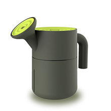 Mini Humidifier, 200 mL USB Power Portable Watering Pot Shape Mist Humidifier with LED Automatic Shu