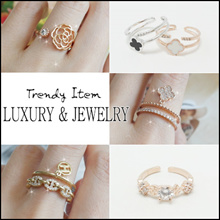 💍 Laurenco 💍 Aug New update!! / Trendy Korean Ring - Luxury and unique Ring / Earrings