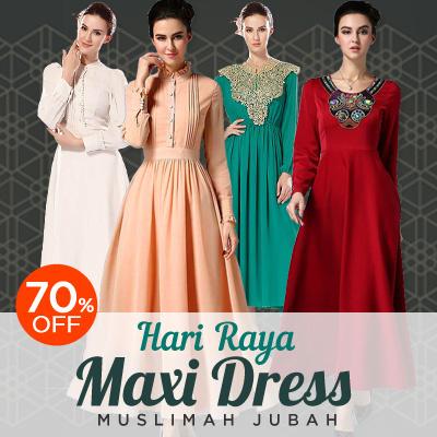 New fashion dress muslimah formal