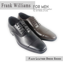 Faux Leather Mens Dress Shoe ♠ 1278-01 ♠ Premium Quality and Workmanship Guaranteed ♠ Size 39-45 ♠ Local Seller with  Express Shipping ♠