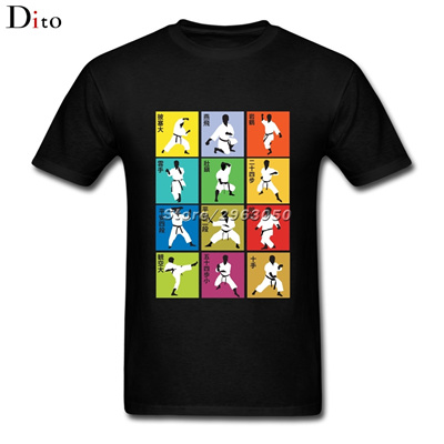 8b804a70a52 Shotokan Karate T-shirt Men Male Popular Short Sleeve Fashion Custom XXXL  Team T Shirts