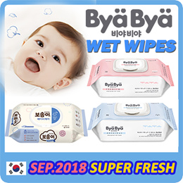 Bosomi/ByaBya 800PCS Thick and Safe for Baby★Made in Korea★PREMIUM WET WIPE