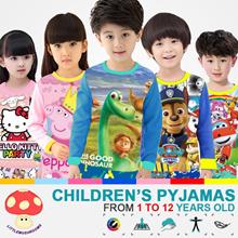 + LITTLE MUSHROOMS + | CMPYJ | CHILDREN CARTOON COTTON PYJAMAS SLEEPING WEAR | GOOD CHEAP SALE ||