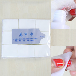 Lint Free Nail Wipes Pads Gel Acrylic Polish Remover 900 Pieces. Widely used in Nail Salons!