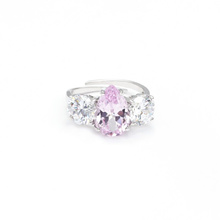 Zircon Rainbow Stone Engagement Rings Women Wedding Jewelry Multicolor Crystal Ring Female Finger