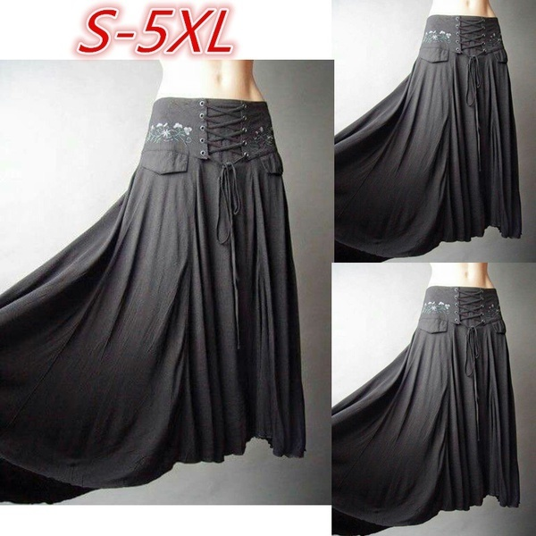 女性のファッションプラスサイズハイウエスト包帯純粋な色の折りたたみスカートWZG2349