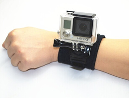 360 degree rotation Wrist Band with Lock for Action Cam ( Suitable for GoPro/SJCAM)