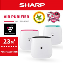 [SHARP OFFICIAL] Plasmacluster Air Purifier FP-J30E
