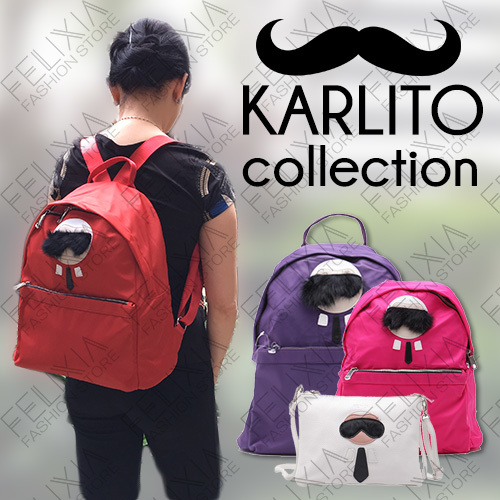 [KILLER PRICE] Karlito Backpack and Sling | Two Sizes Deals for only Rp165.000 instead of Rp165.000