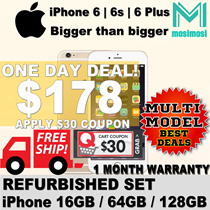 iPhone 6 64GB | 6s  64GB| 6 plus 64GB | Refurbished | No Fingerprint | 1Month Warranty Free Shipping