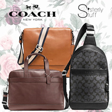 DIRECT SHIPMENT FROM USA-COACH MENS SHOULDER BAG/CROSSBODY/MAP BAG