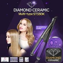 [Babyliss] NEW DIAMOND CERAMIC Straightener ST330K Hair Curler fan