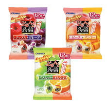 Japanese Orihiro konjac jelly two flavors 12 pieces
