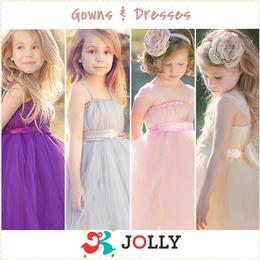 Girls Princess Gowns Dresses Dress Blouses Skirts Apparels Kids Children Party Wedding Flower