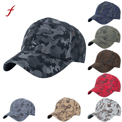 76e2c0ab1 Camouflage Snapback Polyester Cap Blank Flat Camo Baseball Cap With No Mens  Cap And Hat For Men And