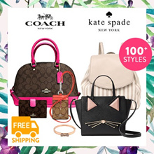 [COACH x KATE SPADE] •• Bag and Wallet Collections!! ••  New and 100% Authentic
