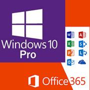 Microsoft Windows 10 Pro + Office 365 combined