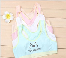 Little girl vest puberty child underwear bra girls tube top bra breast bundles children students ema