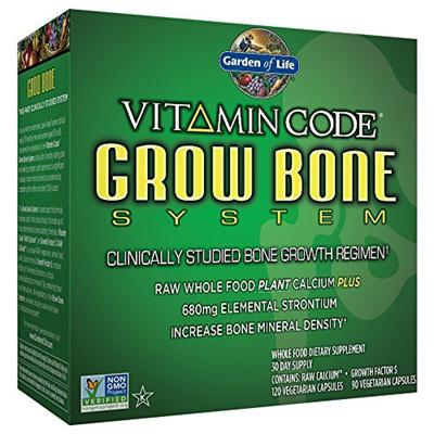 ▷$1 Shop Coupon◁ Garden Of Life Raw Calcium Supplement   Vitamin Code Grow  Bone