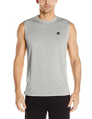 6e7df37ff54050 Qoo10 - Champion Men s Double Dry Heather Muscle T-Shirt   Sportswear