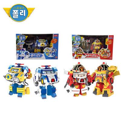 Korean TV Animation ROBOCAR POLI / Poli Space Marine Pack / Roy Space Fireman Pack /