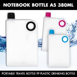 A5 Notebook design Portable Travel Bottle  BOTTLE  380ML