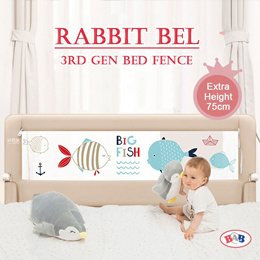 2nd gen ★best price★Soft folding bed guard/ Baby Bed Rail Fence bumper Gift /1.2m 1.5m 1.8m