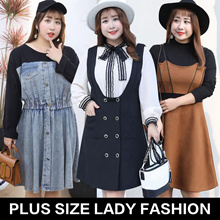 2018 new arrival /plus size/ lady fashion top/ dress/pants/look thin/plus size collection