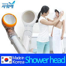 [DEWBELL]shower head with filter an ceramic balls/Remove rust Residual chlorine Harmful substances