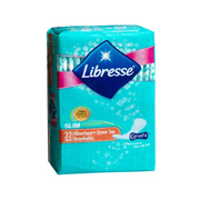 LIBRESSE GREEN TEA SLIM ABSORBENT PANTYLINERS 32S 32S
