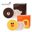 MISSHA LINE FRIENDS PACKAGE (1 PCS package + REFILL 1PCS + PUFF 1PCS)