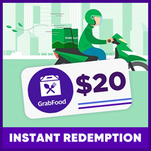 $20 GRAB FOOD VOUCHER | INSTANT REDEMPTION