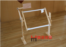 Adjustable wood embroidery stitch embroidery flower bed shelf desktop tool embroidery frame embroidery frame holder