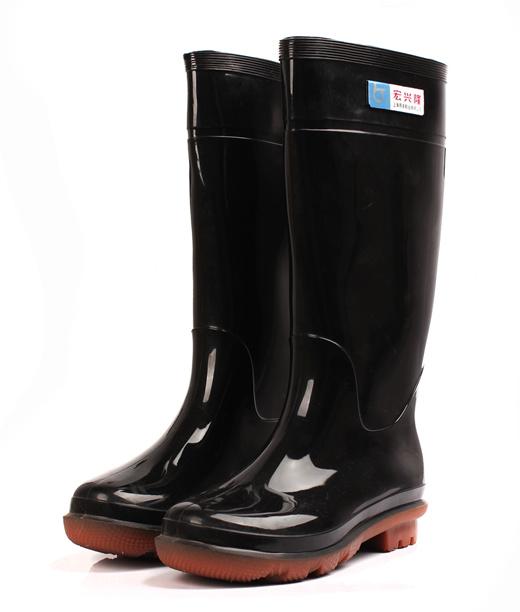 Hong XING long boots men high skid tube