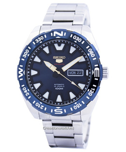 [CreationWatches] Seiko 5 Sports Automatic 24 Jewels Japan Made SRP747 SRP747J1 SRP747J Mens Watch