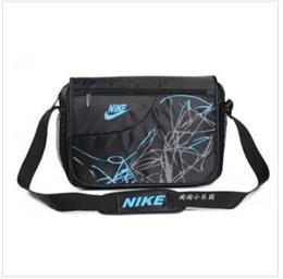 Shoulder Messenger bag boys schoolbag bag tide male recreational sports bag school bag-X