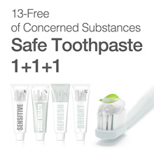 [Manyo Factory HQ Direct operation] ★T-smile Natural Toothpaste 1+1+1★ 13-Free Safe / 100g X 3 !!