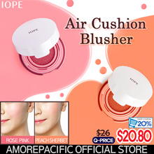 [IOPE Makeup] Air Cushion Blusher 9g_Face Defining Blusher 10g (PinkPeach)
