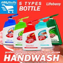 【LifeBuoy】Antibacterial Handwash ●200ml Bottle● Activ Fresh/Total Protect/Mild Care/Nature Pure/Colour Changing