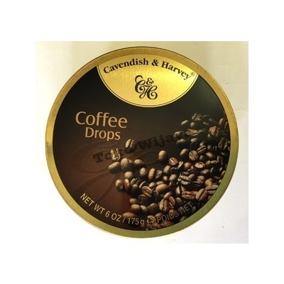 Permen Cavendish Harvey Coffee Drops