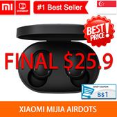 💖READY STOCK💖[Xiaomi MIjia Airdots] TWS Bluetooth 5.0 Earphone Youth Version Touch Control with C