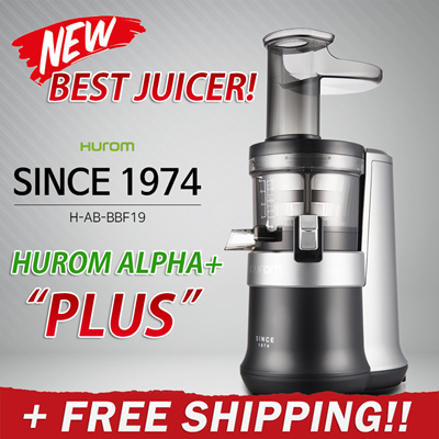 Hurom Slow Juicer New Zealand : Qoo10 - KOREA BEST JUICER! Hurom Premium Slow Juicer ALPHA PLUS / ALPHA+ Smo... : Home Appliances