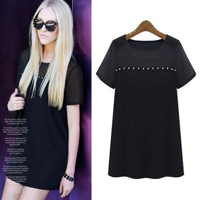 トップ ワンピース 春 夏 春物 トップス ファッション S M L XL Tシャツ レディース  女性 女 レディースファッション 夏ファッション